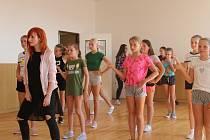 SVČ TYMY organizovalo Prázdninovou školu tance.
