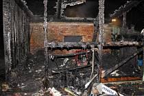 Požár garáže s přístřeškem v holešovské místní části Všetuly řešili během noci na pondělí 9.1. po druhé hodině ranní tamní hasiči. Škoda způsobená ohněm byla majitelem předběžně vyčíslena na sto tisíc korun.