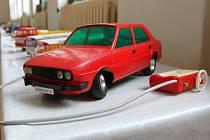 Výstava retro hraček v Zářičí