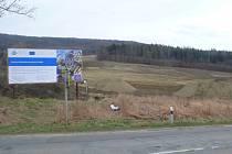 V katastrálním území obce Zástřizly na Kroměřížsku ve směru na Střílky začala výstavba nového lokálního biocentra Záviška.