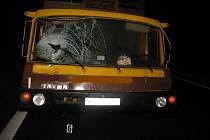 Smrtelná dopravní nehoda v Břestu.