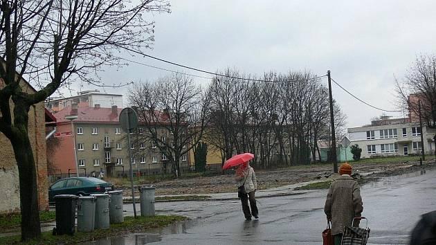 Ulice Školní v Holešově