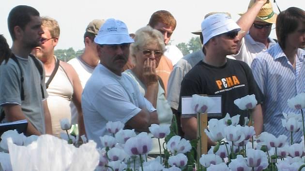 Zemědělci a šlechtitelé se sešli na přehlídce nazvané Polní den.