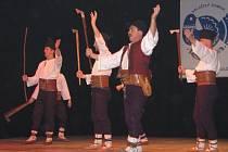 Oslava 55. výročí vzniku folklorního souboru písní a tanců Rusava.