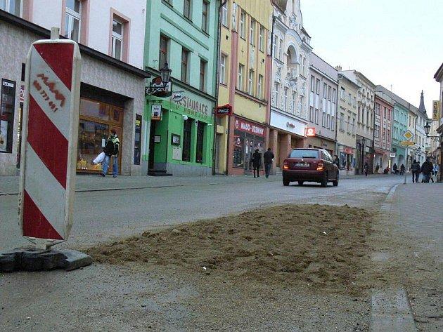 Kroměřížská Vodní ulice. Ilustrační foto