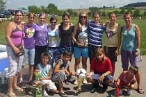 Vítězný tým DFK Holešov.
