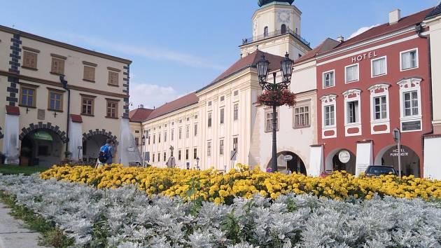 Velké náměstí v Kroměříži. Ilustrační foto