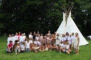 Letní tábor TYMY Indiáni.