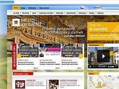 Nový web města Kroměříž