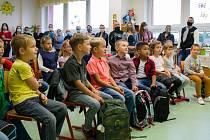 První školní den v Hulíně.