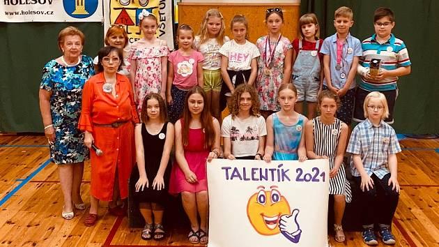 V SVČ TYMY byly předány ceny Talentík 2021.