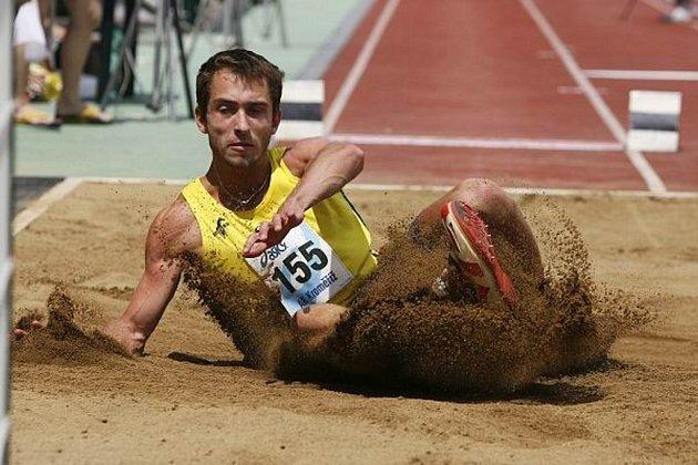 Roman Novotný atakoval splnění olympisjkého limitu, zatím bezúspěšně.