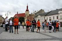 Součástí festivalu Týden Židovské kultury byly i tance vedené skupinou Yocheved z Třebíče.
