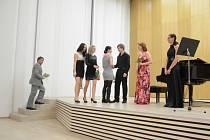 Koncert 20. století v rámci cyklu komorních koncertů v kině Nadsklepí.