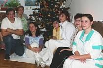 Štědrý den v Domě pokojného stáří v Cetechovicích