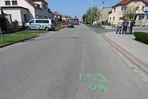 Nehodu cyklisty řešili ve čtvrtek po poledni policisté v Chropyni: vážně se při ní zranil čtyřiasedmdesátiletý muž.