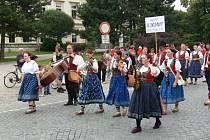 Mezinárodní folklorní festival Na rynku v Bystřici. Ilustrační foto