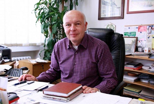 Zdeněk Pánek, starosta Bystřice pod Hostýnem.