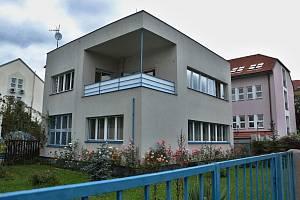 Rodinný dům Eduarda Světlíka v současnosti.
