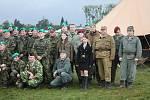 Den uniformovaných sborů 2019 v Kroměříži.