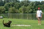 Záchranná brigáda Zlínského kraje zorganizovala v sobotu 16. července zkoušky pro psy v činnosti při vodních pracích. Zúčastnillo se celkem šest psů, což byl maximální počet.