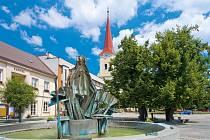 Masarykovo náměstí v Bystřici pod Hostýnem
