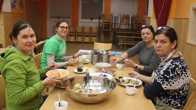 Vlednu se uskutečnila vTYMY další lekce Zdravého vaření sMartinou.