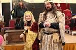 Hledání pokladu na holešovském zámku