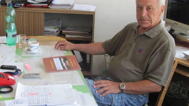 Rozhovor s Františkem Hrabalem, který před patnácti lety působil jako místostarosta v Chropyni.