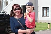 Romana Malinská pozvala své vnuky na prázdniny.