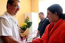 Na oddělení šestinedělí přivítali první narozené miminko Kroměřížské nemocnice v tomto roce.