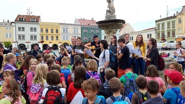 Oslava svátku sv. Ludmily - Dne církevního školství v Kroměříži 2019