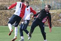 V premiérovém utkání zimní přípravy porazila Kroměříž 1:0 Spytihněv
