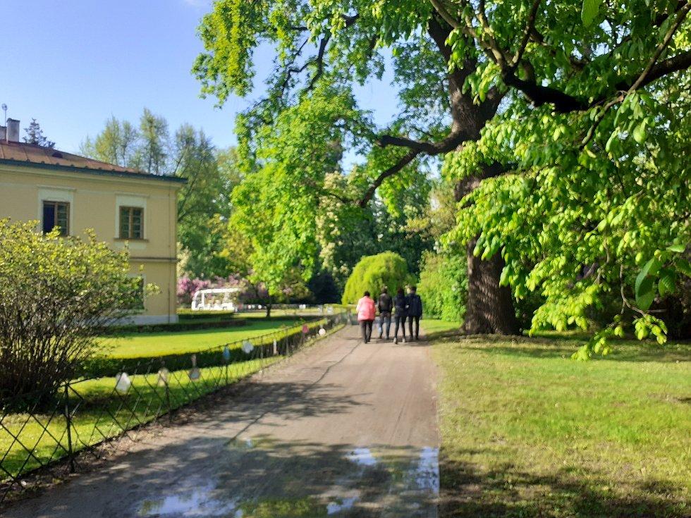 Podzámecká zahrada v Kroměříži, 15. května 2021