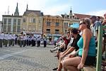 Mezinárodní festival vojenských hudeb na Velkém náměstí v Kroměříži 2019