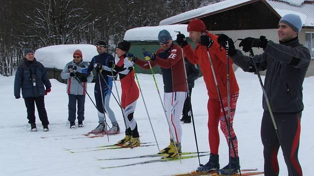 Holešovští lyžaři byli nejúspěšnější.
