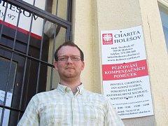 Milan Jelínek, ředitel Charity Holešov.
