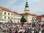 Krajské dožínky 2016 v Kroměříži. Ilustrační foto