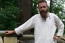 Hrad Cimburk obývá v současné době Pavel Kudlička, práci kastelána zastává už třetím rokem.
