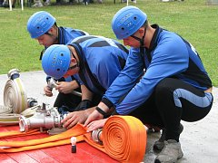 Další z kol české extraligy v požárním sportu se konalo 9. srpna v Pravčicích.