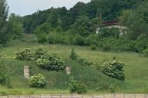 Areál bývalé raketové základny za Kroměříží.