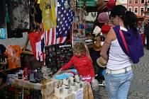 Dne 21. září se na Velkém náměstí v Kroměříži uskutečnil třetí ročník jarmaku ručních prací, šperků a bižuterie.