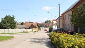 Nebezpečná křižovatka v Morkovicích