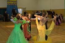 Téměř tři sta tanečních párů napříč všemi věkovými kategoriemi se sešlo v tělocvičně všetulského TYMY centra u příležitosti taneční soutěže O Všetulskou lentilku