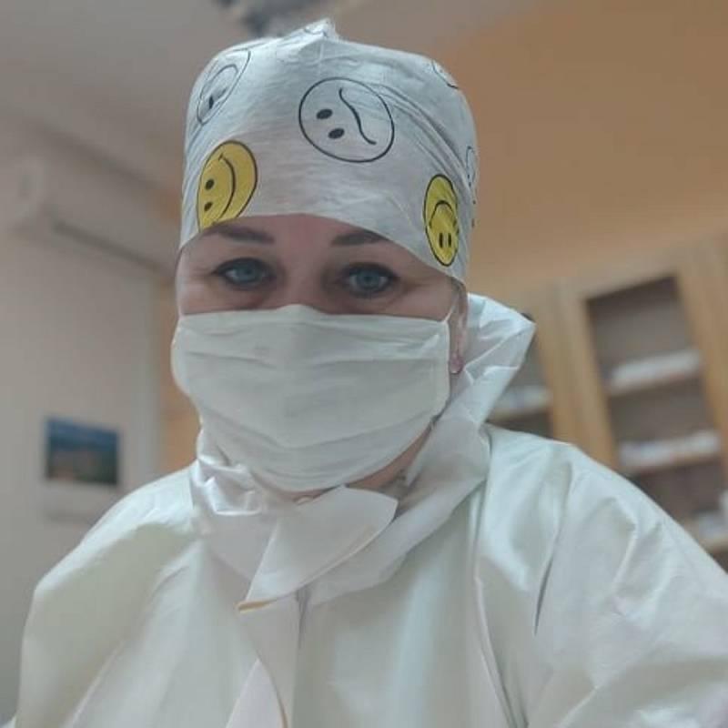 Zdravotní sestra Michaela Chocholatá.
