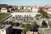 MODERNÍ A KOMFORTNÍ. Vizualizace nové prodejny Lidl v Kroměříži na ulici Velehradská.