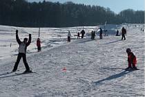 Ski areál Rusava. Ilustrační foto.