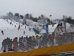 Ochlazení na přelomu roku pomohlo ski areálům v regionu, například na Stupavě se tak první víkend roku 2016 už lyžovalo.