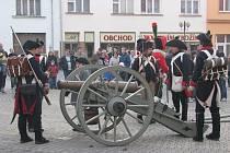 V Bystřici pod Hostýnem uctili vojáci památku vojáků padlých při bitvě u Slavkova