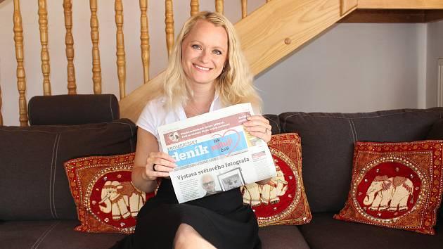 Klára Janečková je přes školní rok psycholožkou, o prázdninách spisovatelkou